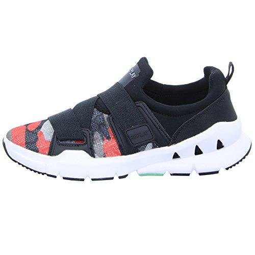 Replay Marvile Damen Sneaker Low Slipper Running shoe Camo Red