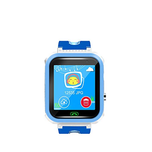 Kariwell DS63 Children's Positioning Smart Watch - Add Friends/Pedometer/Sleep Montitor/Voice Intercom/Phone Call and SMS/History Tracking/Alarm Clock Kari-190