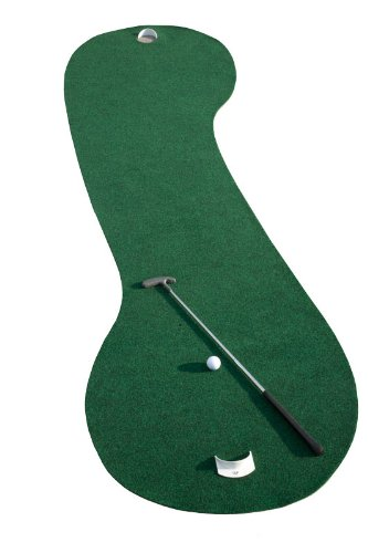 Putt-A-Bout 2 Way Putting Mat, Green, 3 x 10-Feet