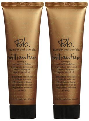 Bumble & Bumble Brilliantine Hair Polish, Travel Size- 2 OZ (Quantity of 2)