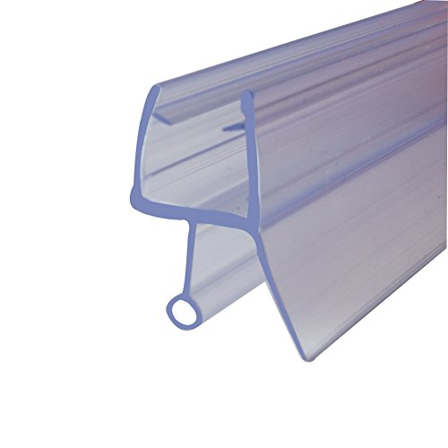 ROYO Frameless Bathroom Shower Screen Door Seal Strip,36-Inch Long,for 1/4-Inch(6mm) Glass by ROYO