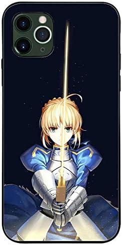 Fate/stay night Heaven's Feel iPhoneケース,アルトリア・ペンドラゴン オルタ tpu薄型耐衝撃スマホケースかっこいいiphone7 X 11Pro