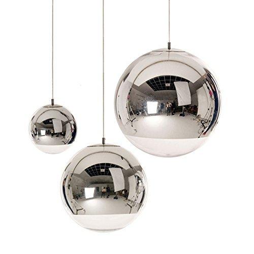 Silver Ball Pendant Light in Florida - 7