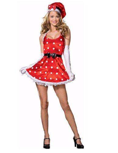 [Holiday Pin-Up - Large - Dress Size 10-14] (Holiday Pin Up Costumes)