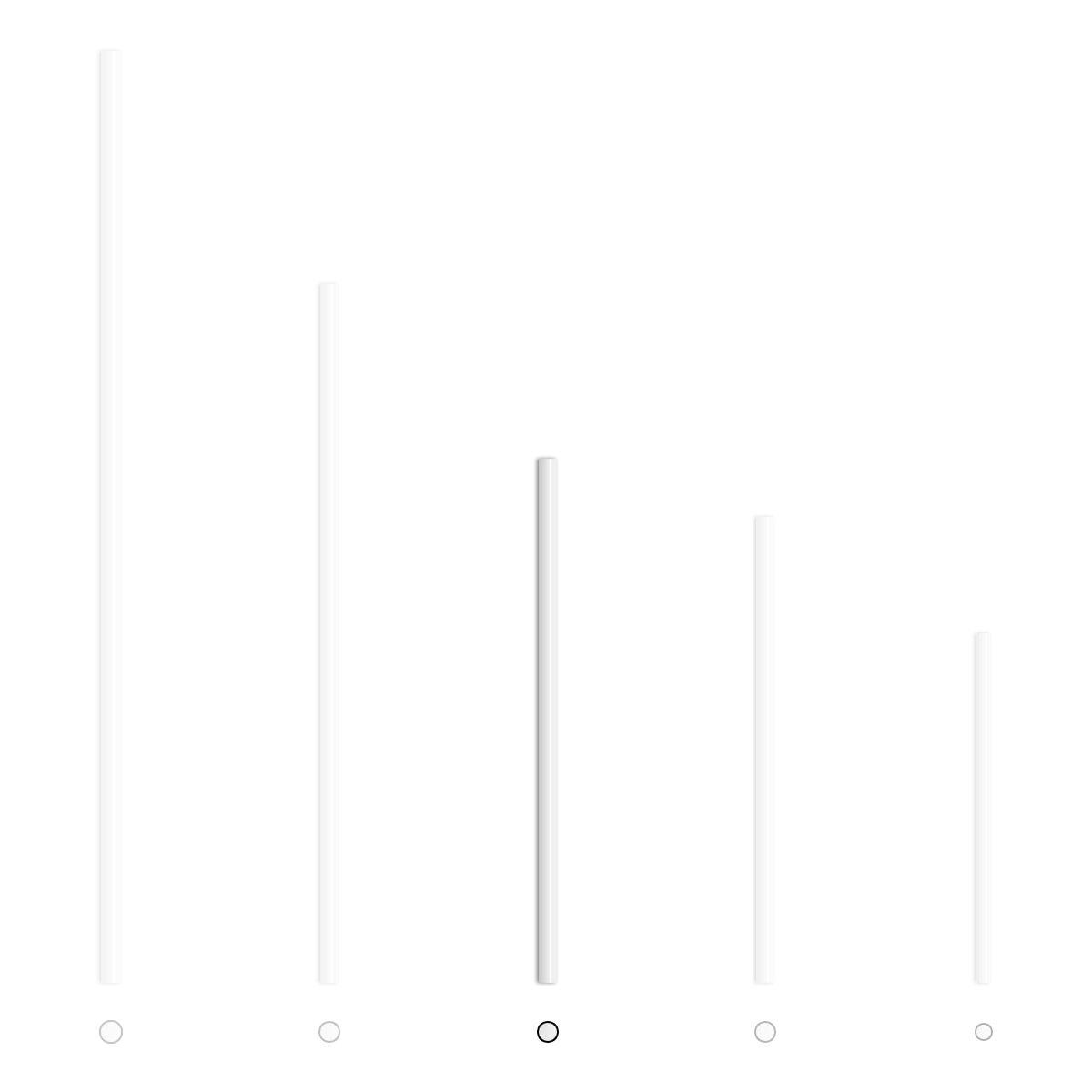 BWS White Paper Cake Pop Lollipop Sticks (4-1/2'' x 5/32'' Case of 12,000)