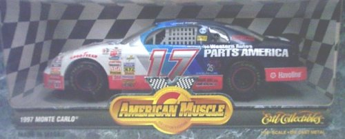 Ertl American Muscle 7370 1997 Monte Carlo #17 Western for sale  Delivered anywhere in USA