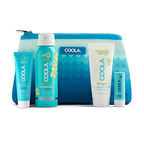COOLA 4 Piece Signature Organic Suncare Travel Kit