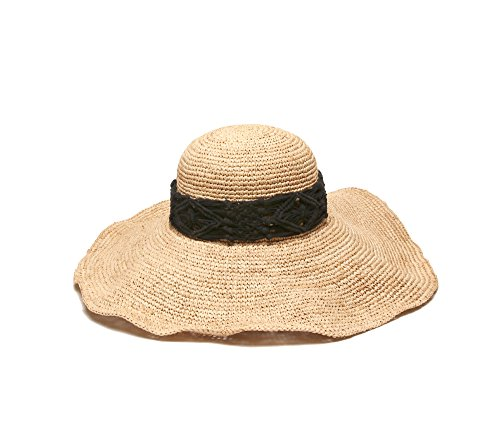 physician-endorsed-womens-magnolia-crochet-raffia-hat-with-macrame-trim-natural-black-one-size