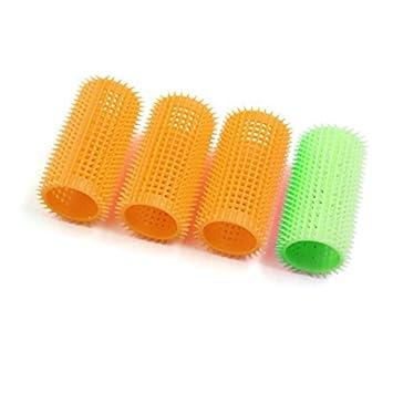 Amazon.com: eDealMax 4 piezas de la luz Verde anaranjado de plástico ...