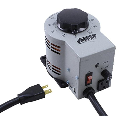 STACO ENERGY PRODUCTS 3PN1210B VARIABLE TRANSFORMER