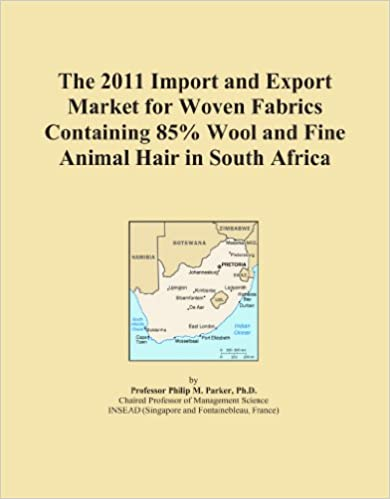 Book The 2011 Import and Export Market for Woven Fabrics Containing 85% Wool and Fine Animal Hair in South Africa