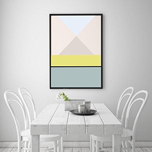 Geometric Print, Geometric Poster, Scandinavian Design, Abstract Art, Scandinavian Print Poster, Wall Art, Geometric