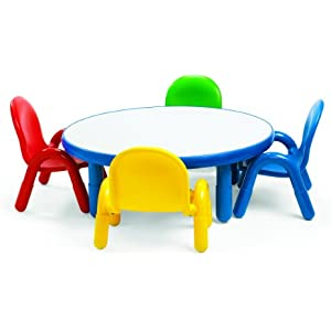 Angeles Toddler Table & Chair Set ROYAL BLUE