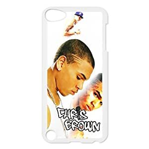 Custom Chris Brown Hard Back Cover Case for iPod touch 5th IPH190