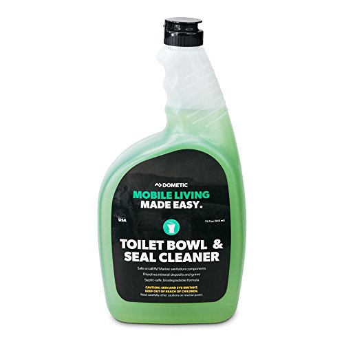 - Dometic D1216001 Toilet Bowl and Seal Cleaner - 32 oz.