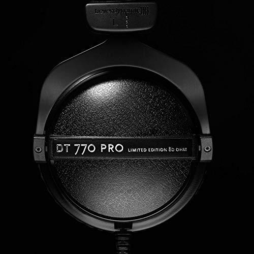 416jRWHmBbL - beyerdynamic DT 770 Pro 80 Limited Edition Headphones, Black