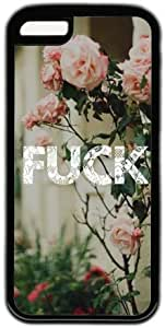 Flower Lace Fuck Quote Theme Iphone 5c Case