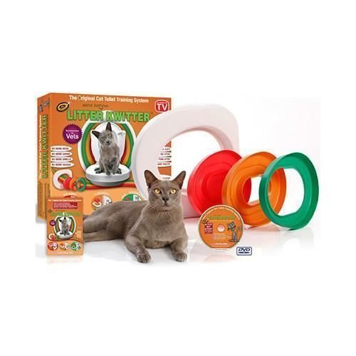 Litter Kwitter Cat Toilet Training - Litter Toilet Kwitter Training