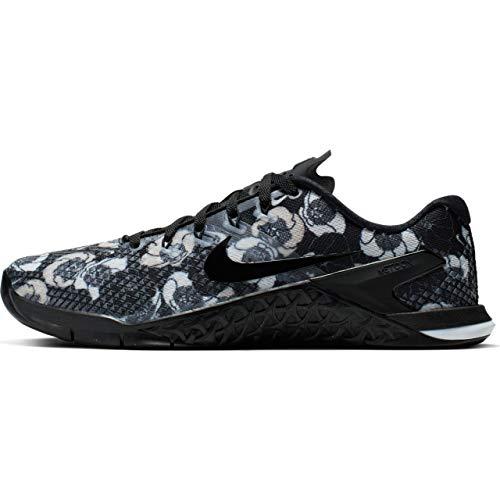 Nike Women's Metcon 4 Premium Training Shoes (7, Black/Black-White)