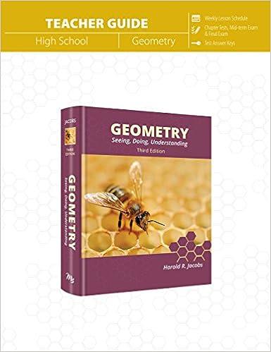 Amazon geometry teacher guide 9781683440222 harold jacobs geometry teacher guide answer key teachers guide edition fandeluxe Choice Image