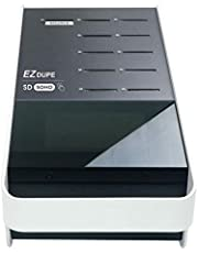 EZ DUPE SOHO Touch SD Duplicator 1 to 10 SD Card and Micro SD Card (with Adapter) Duplicator Copier Eraser with Touch Screen (DM-FD0-11SD10TP)