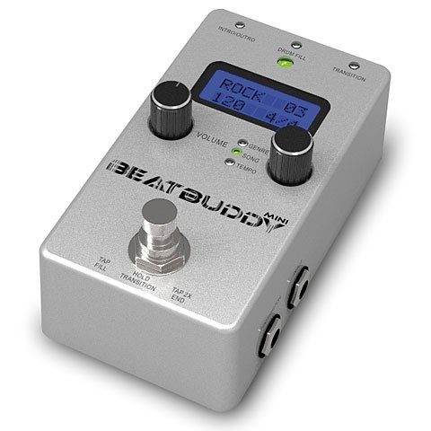 sound singular beatbuddy mini guitars drum machine negozio online strumenti per dj. Black Bedroom Furniture Sets. Home Design Ideas