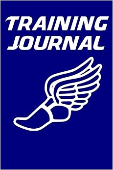 Training Journal Running Notebook For Runners With Treadmill Pace