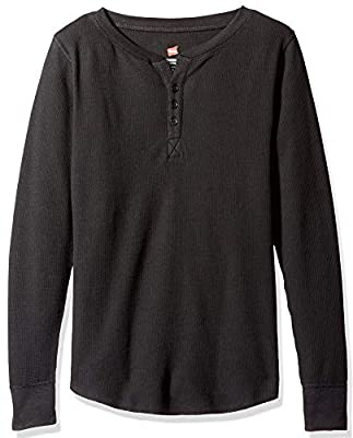 Hanes Plus Size Women's Ultimate Thermal Henley