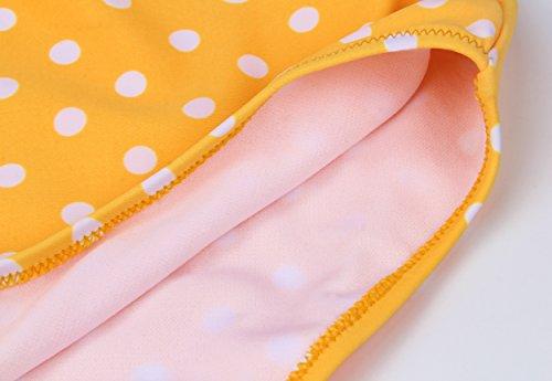 Bikini Vintage Giallo Da Bagno EasyMy Push Bikini Classical Donne Costumi Set Up xPqw4pwE