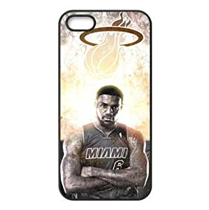 Miami Heat Snap on Plastic Case Cover Compatible with For Iphone 6 Plus 5.5 Inch Cover