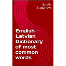 English - Latvian Dictionary of most common words