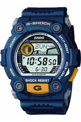 Casio G-7900-2Er Mens G-Shock Blue Digital Watch for sale  Delivered anywhere in USA