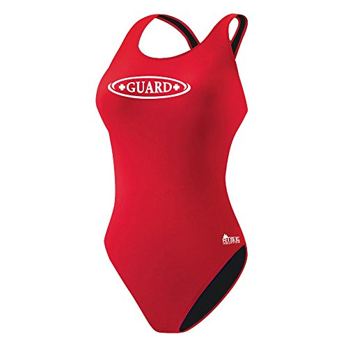 Rise Aquatics Rise Guard MB Back w/Shelf Bra (30, red) by Rise Aquatics