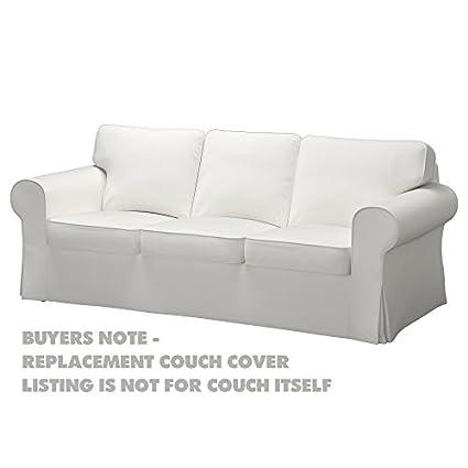 IKEA - Funda de repuesto para EKTORP 3 Cojín Couch ...