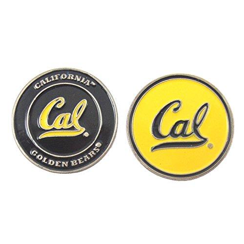 California Bears Double-Sided Cal Berkeley Golf Ball Marker