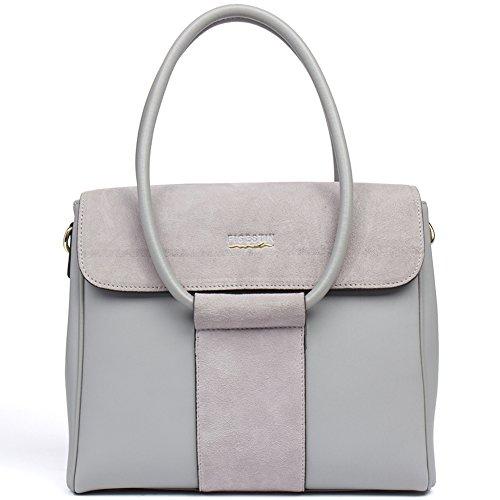 cbfd9c938f Genuine Leather Tote Handbags for Women Figestin Elegant Crossbody Simple  Satchel Shoulder Wallet Bag