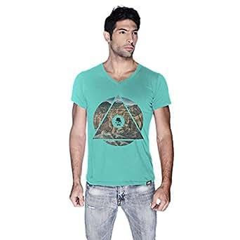 Creo Almaty Mountain T-Shirt For Men - L, Green