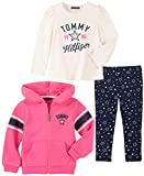 Tommy Hilfiger Baby Girls 3 Pieces Jacket Set, Dry
