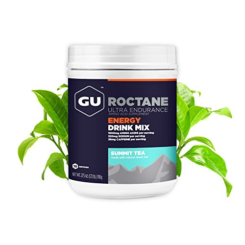 GU Energy Roctane Ultra Endurance Energy Drink Mix, 1.72-Pound Canister, Summit Tea