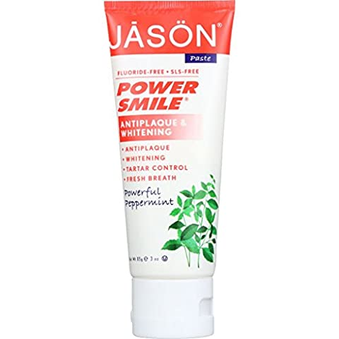 Jason Natural Products Toothpaste - Powersmile - Antiplaque and Whitening - Powe (Dycal Cement)