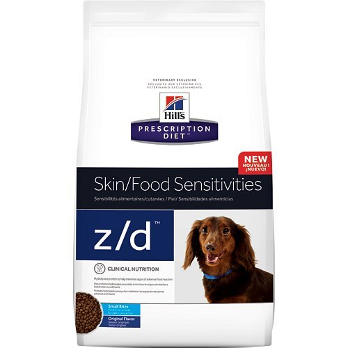 Hill's Prescription Diet z/d Canine Small Bites dog food 7 lb (3.17 kg) bag, Small
