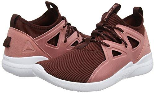 burnt white Chaussures Cardio Noir Rouge Femme De Sienna Motion Rose sandy Reebok Fitness F7qgw0xR