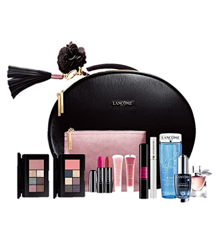 (LANCOME LE PARISIAN HOLIDAY CASE GLAM SET BEAUTY BOX SET 10 Pcs)
