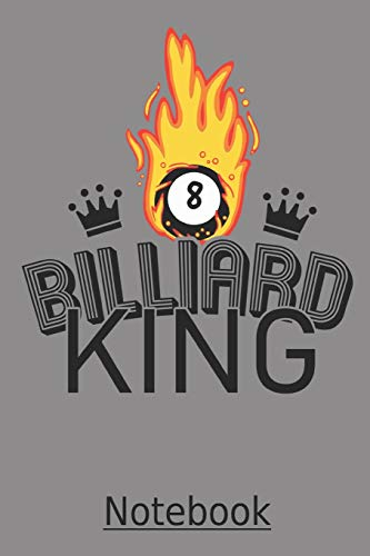 BILLIARD KING Notebook: A very nice Billiard notebook with 100 lined pages in the great 6x9 inch format (approx. DIN A5). For all pool fans out there. ... Easter or birthday in 8 ball design! por PoolBPublisher