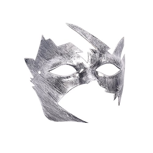 Patgoal Cool Men Fighter Masquerade Face Mask for Ball Party/ Halloween ()