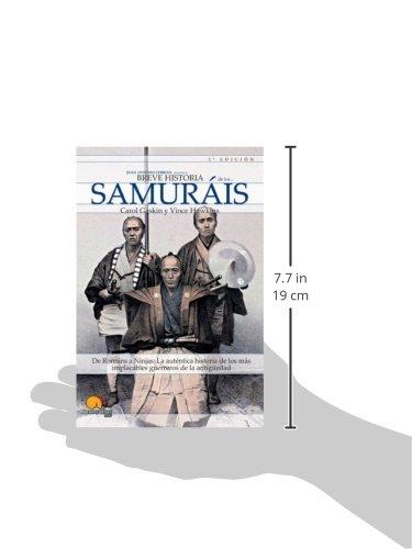 Breve Historia De Los Samurais: Amazon.es: Carol Gaskin ...
