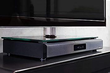 Subwoofer Integrado AudioAffairs Sistema de Altavoces Cine en Casa HDMI ARC Barra de sonido con Radio FM PLL FM Bluetooth 3.0 y Mando a Distancia