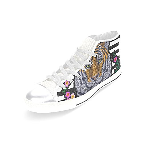 D Bee Fashion Canvas Top Multicoloured5 Sneaker High Classic Story Custom Shoes Womens EE1zrqO