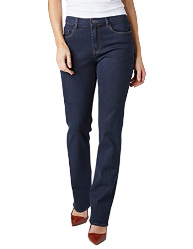 Pioneer - Damen 5-Pocket Jeans in der Farbe blue rinse, Regular Fit, Kate (3213 6114 60) Blue (50)