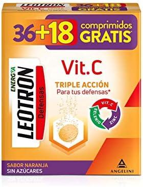 LEOTRON Vitamina C 36+18 comprimidos